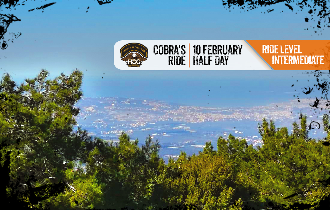 Cobra's ride – H O G ® Lebanon Chapter